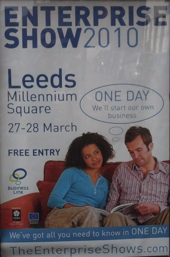 Enterprise Show Poster in Leeds
